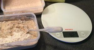 Bagning - surdej og vægt